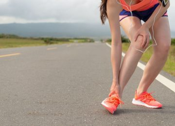 Physiotherapy for ankle sprains